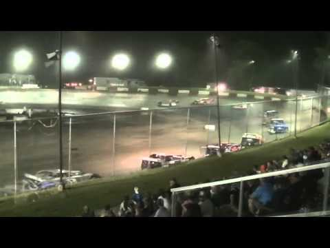 Peoria Speedway Summer Nationals Late Model Feature 6-23-15