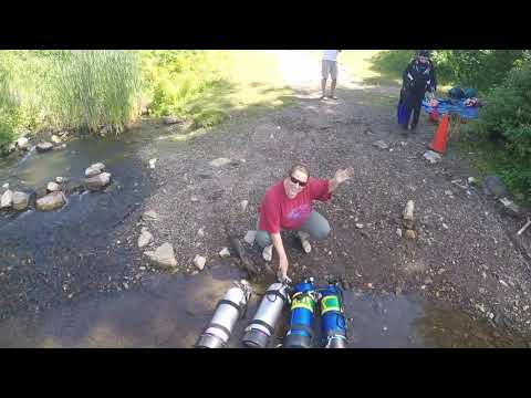 Diving with Dive Source | Marmora, Ontario - Crowe River Shore Dive Site