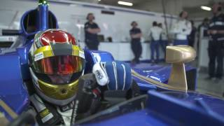 Sauber F1 Team 2017 Preparation - Pascal Wehrlein | AutoMotoTV