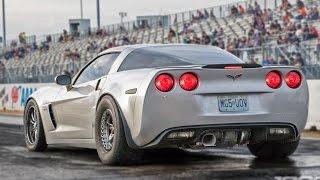 MASSIVE Rear Mounted TURBO Corvette!