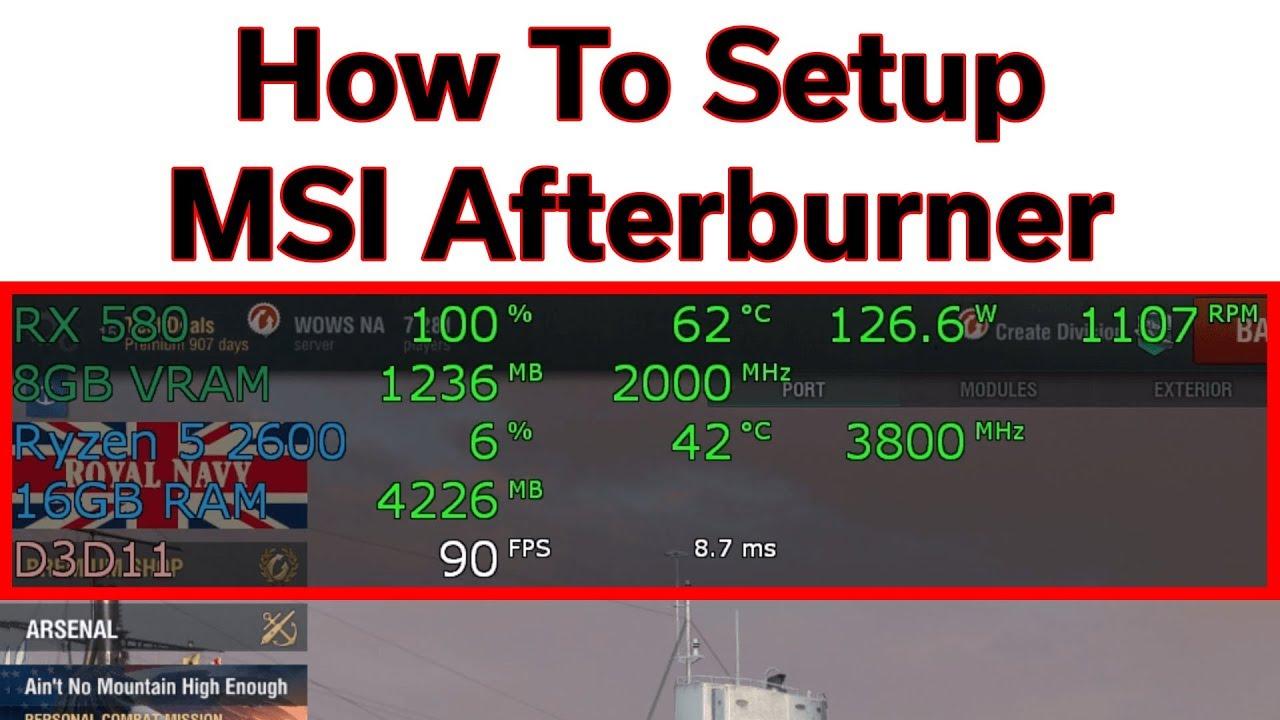 msi afterburner settings guide