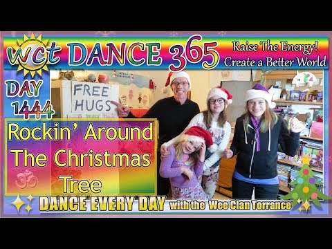 ROCKIN' AROUND THE CHRISTMAS TREE! DAY 1444 DANCE 365!