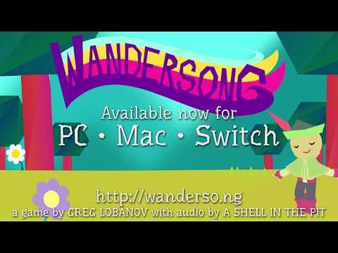 Wandersong official launch trailer! :d