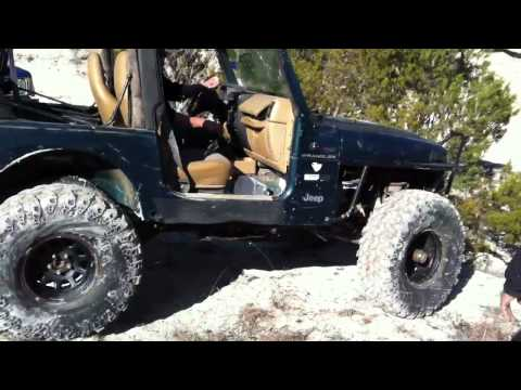 Gregs jeep. Jimmy dog