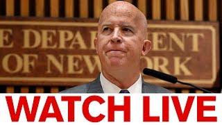 Mayor de Blasio announces resignation of NYPD Commissioner O'Neill