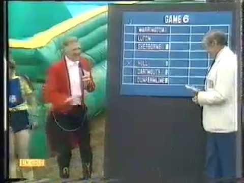 Stuart Hall on Sue Rowe - It's A Knockout 1981