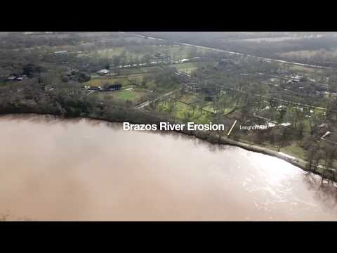 Brazos River Near Simonton, Texas - January 8, 2019