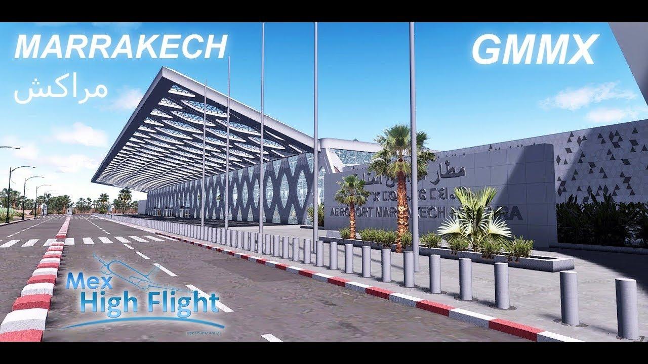 simMarket: MEX HIGH FLIGHT - GMMX MARRAKECH MENARA INTL