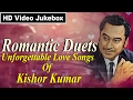 Kishore Kumar Romantic Duets l 21 Super-hit Love Songs l Video Jukebox