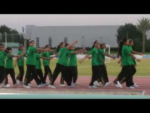 School of knowledge  sports  day  March past
