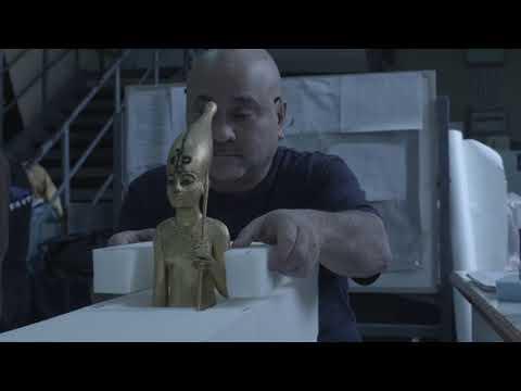 KING TUT: Treasures of the Golden Pharaoh, Packing Footage from Cairo Egypt || SocialNews.XYZ