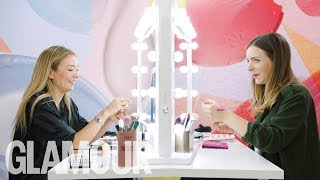 FRIDAY FACE / OFF: Mermaid Festival Look With Naoko Scintu | GLAMOUR UK