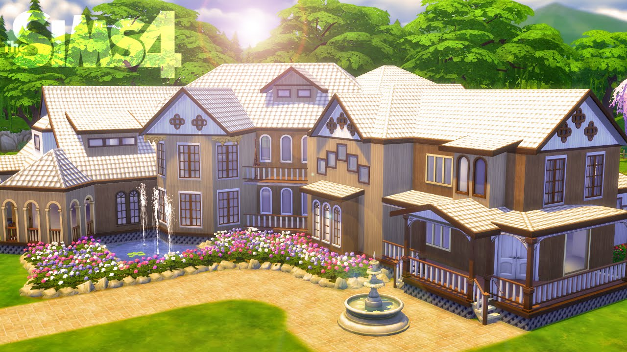 The Sims 4 House Building Kaleidoscope With