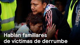 Familiares de víctimas de derrumbe hablan - Sismo - En Punto con Denise Maerker