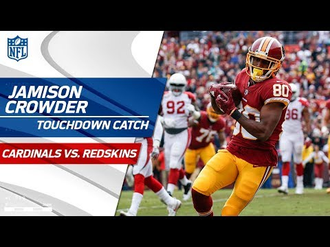 Cousins Capitalizes on Fumble Recovery w/ TD Toss to Crowder!   Cardinals vs. Redskins   NFL Wk 15