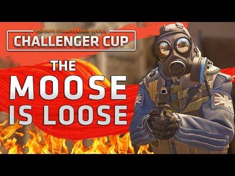 The Moose Is Loose - Deagle 1v5 Ace (ECS Challenger Cup NA)