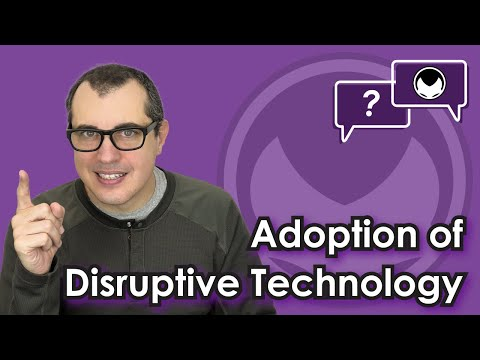 Bitcoin Q&A: Adoption of disruptive technology