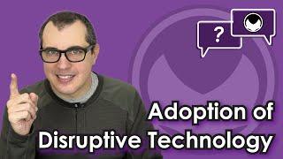 Bitcoin Q&A: Adoption of disruptive technology