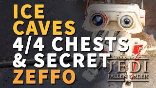 All Ice Caves Chests Star Wars Jedi Fallen Order