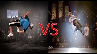 Bboy Lilou VS Bboy Jed ★ Breakdance Battle ★ Best Bboys ★ HD 2014