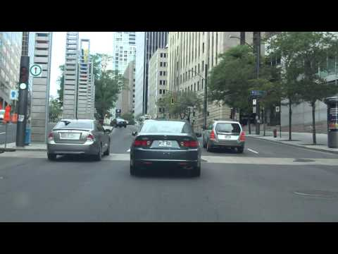 Downtown Montreal Street Tour