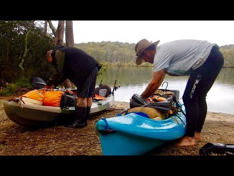Kayak Camping On The Clyde River, Catch And Cook