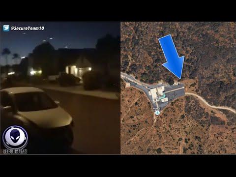 Alien Portal Opens Near Volcano? Mass UFO Sighting Over Cali Skies 9/26/16