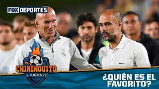 Fuerte debate por la comparativa de Zidane y Guardiola: El Chiringuito
