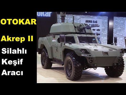 Otokar Akrep II 4x4 Elektrikli Zırhlı Aracını Tanıyalım