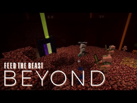 FTB Beyond w/ xB - QUARTZ FORTRESS [E05] (Modded Minecraft)