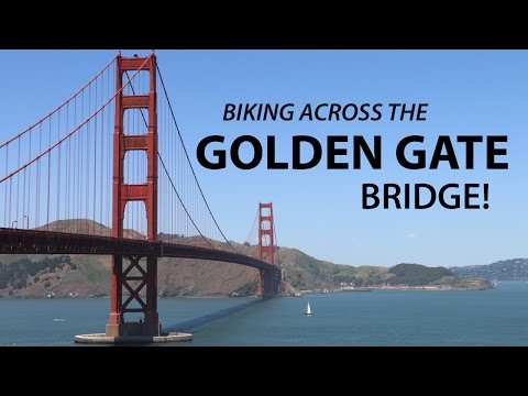 How to Bike GOLDEN GATE BRIDGE Alone | San Francisco Travel Vlog