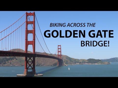 How to Bike GOLDEN GATE BRIDGE Alone   San Francisco Travel Vlog