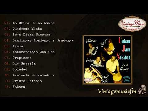 Cuban Jam Session. Colección Perlas Cubanas #34 (Full Album/Álbum Completo) Latin Jazz Lounge