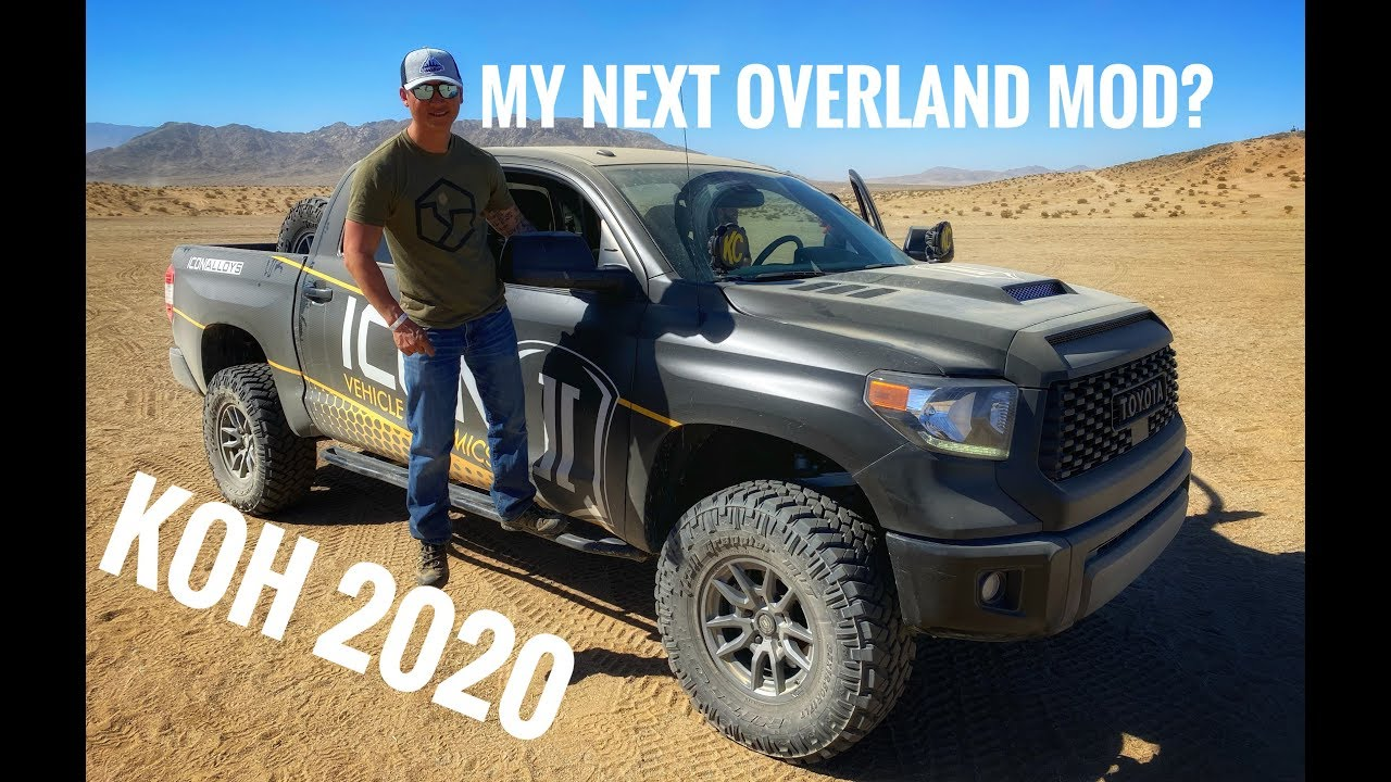 King of the Hammers 2020- Icon Vehicle Dynamics Overland Experience