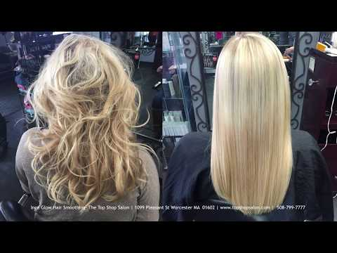 Inca Glow Hair Smoothing - Top Shop Salon Worcester