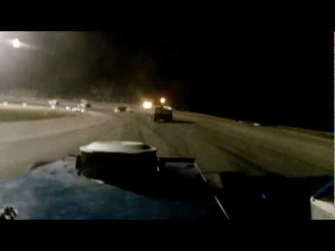 #17 Larry Sbrusch Sportmod Rio Grande Speedway 9-29-2012  GoPro View Slick as Ice