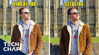Oppo Find X3 Pro vs Galaxy S21 Ultra - CAMERA Comparison!