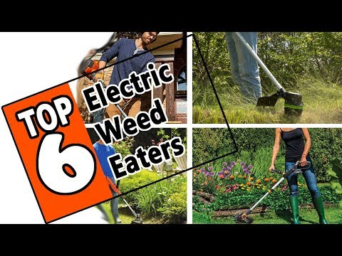 🌻 Best Electric Weed Eaters of 2019 Review - 6 Top Rated Cordless Battery Powered Weed Wackers