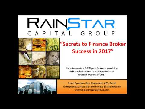 Webinar: Secrets to Finance Broker Success in 2017