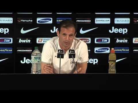 Juventus, Allegri parla della gara col Sassuolo: 'Non convoco Vidal'