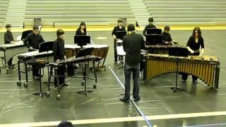 """Dynamo"" Clark Intermediate Concert Percussion Ensemble SJVCGPR Championships 3-26-11"