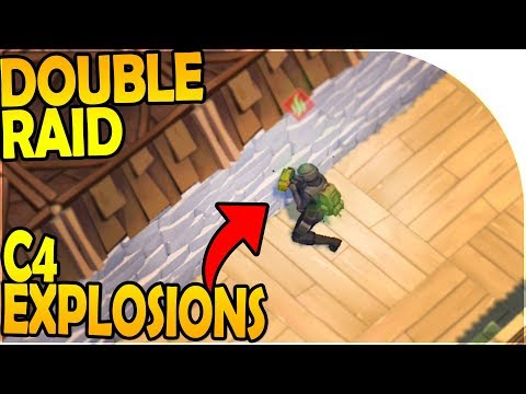 DOUBLE RAID, C4 EXPLOSIONS, Hard Decisions... - Last Day On Earth Survival Update 1.8.1