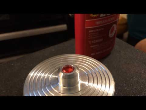 DIY MAKE A SPINNING TOP ON A LATHE