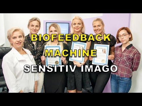 Biofeedback machine Sensitiv Imago. Slide-show of users