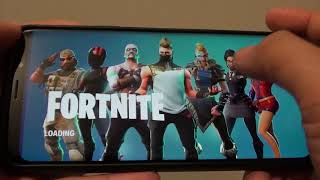 Samsung Galaxy S9 Plus: How to Logout and Switch Account in Fortnite