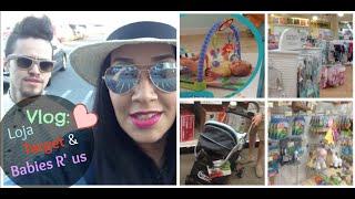 Vlog: Loja Target e Baby R Us