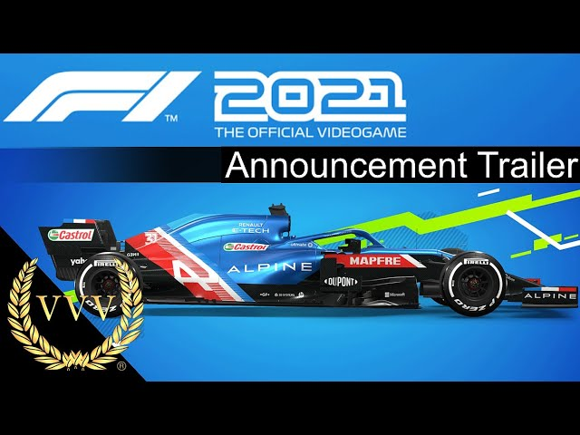 F1 2021 Announcement Trailer and chat