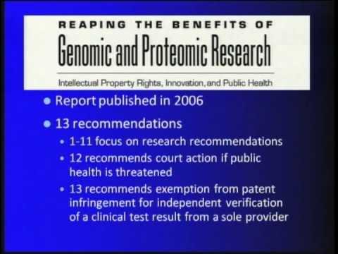 Gene Patents: Incentive or Inhibition? - Debra Leonard