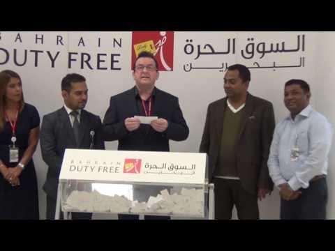 Bahrain Duty Free Shop 302nd Car Draw LEXUS LS460L