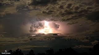 Electrical Storm Lights Up Sky Over Kimberley